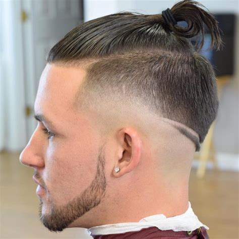 skin tight fade ponytail 45 top class bald fade haircuts gt cool styles 2018