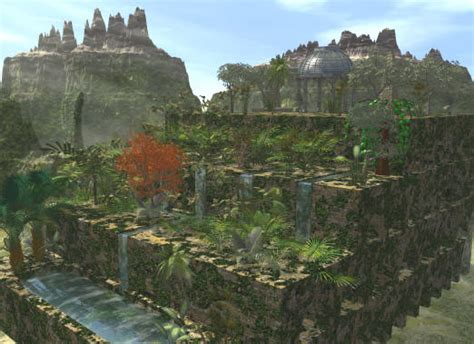 jardines colgantes de babilonia hanging garden tourisum places