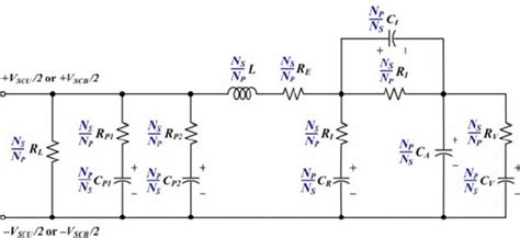 electric circuit model advanced equivalent electric circuit model of the