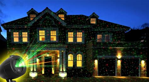 startastic holiday light show laser projector as seen on