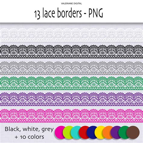 lace border clip lace border clipart clipart suggest