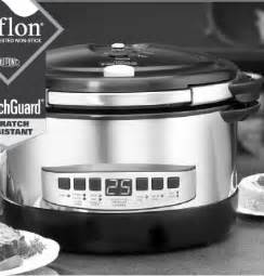 cooks essential cooker cook s essentials 6qt programmable oval electric pressure
