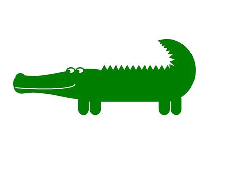 Baby Animal Wall Stickers alligator vinyl wall decal baby nursery by