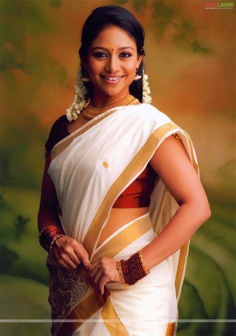 most beautiful kerala actresses south indian actress in treditional kerala saree