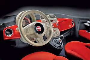 photos fiat 500 interieur fiat 500