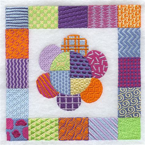 Patchwork Design - machine embroidery designs at embroidery library