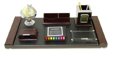 Executive Desk Organizers Makeup Table Organizer Lgi 6stationary Desk Set Wooden Desk Organizer Set With Clock All In