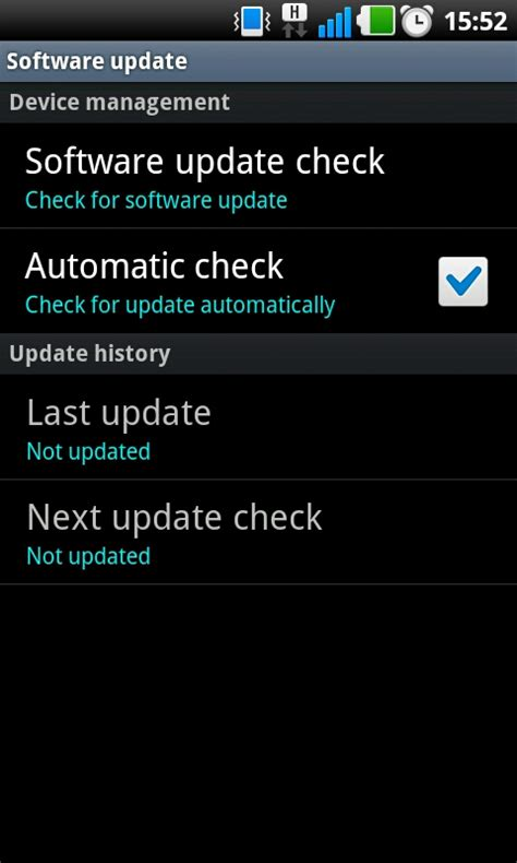 system update for android how to update your android tablet