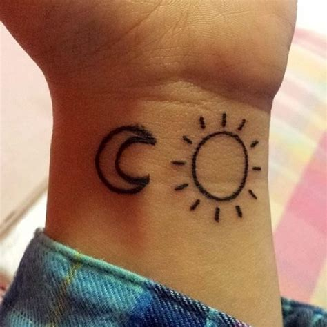 half moon half sun tattoo 50 most sun design pictures and images