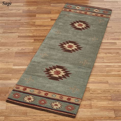 Floor Runner Rugs Southwest Wool Rug Runners