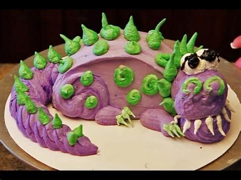 Simple Cake Decorating Ideas For Beginners Dinosaur Cake How To Decorate A Mini Dinosaur Cake Youtube