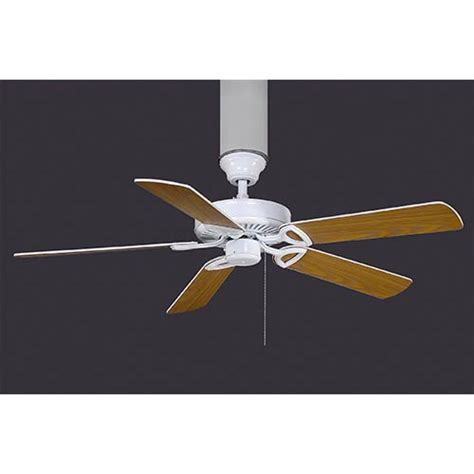 made in america white 52 inch energy star ceiling fan with