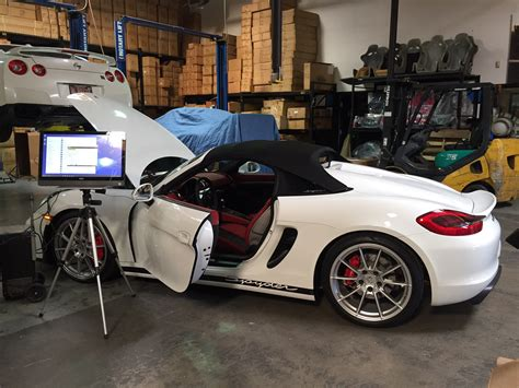Porsche Boxster 981 Tuning by 187 Porsche 981 Boxster Spyder Ecu Tune