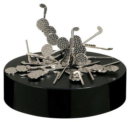 magnetic sculpture desk magnetic desk sculpture golf