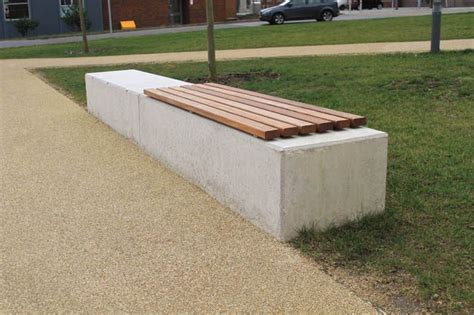 stone top benches image result for concrete wall wood seat top garden