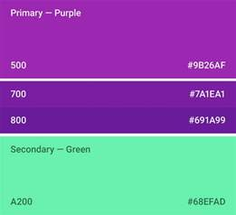 what primary colors make purple color style material design guidelines