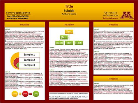 good templates for posters scientific poster template data collection methods