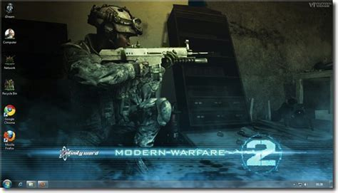 themes for windows 7 call of duty call of duty modern warfare 2 theme