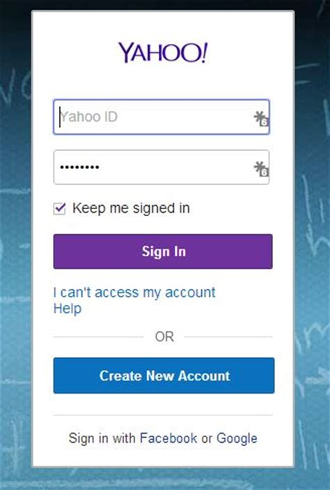 yahoo email won t open logged out yahoo to stop allowing facebook google sign ins