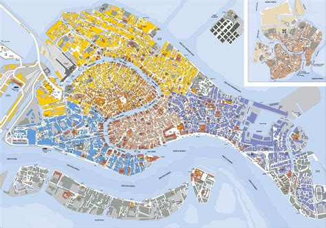 venice italy map detailed map of venice city venice city detailed map vidiani maps of all countries in