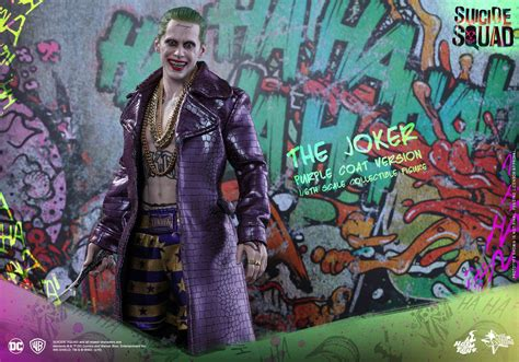 Toys Joker Squad Purple Coat the joker squad toys figure