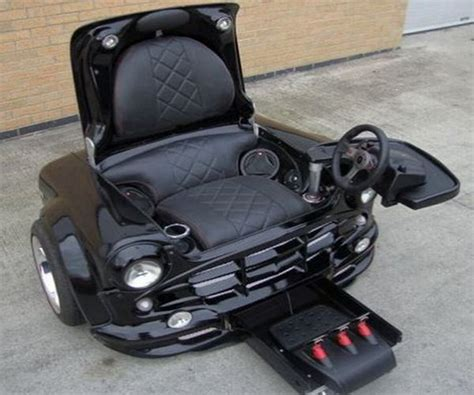 Armchair Car by Chairs R Us A Chair Made Out Of Car Parts