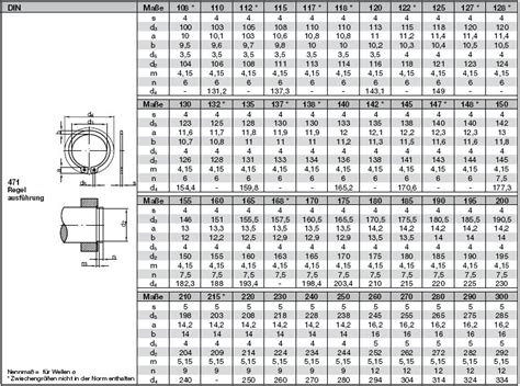 sicherungsring din 471 tabelle herreg 229 rd din 471