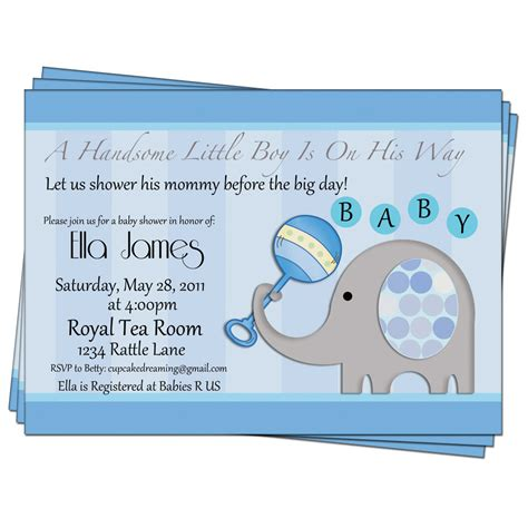 Unique Baby Shower Invites Boy by Design Baby Boy Shower Invitations Baby Boy Shower Invites