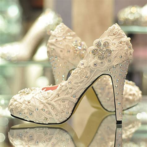 Beautiful Wedding Shoes by The Most Beautiful Wedding Shoes You Ve Seen Trend