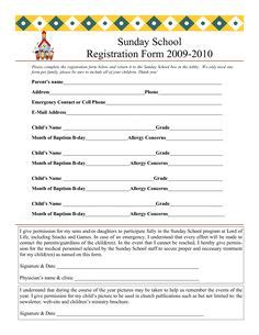church volunteer info registration card template skills 1000 images about vbs crafts on for