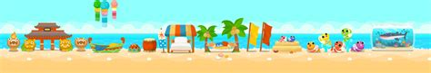 Themes Happy Pet Story | enjoy the perfect summer vacation in happy pet story