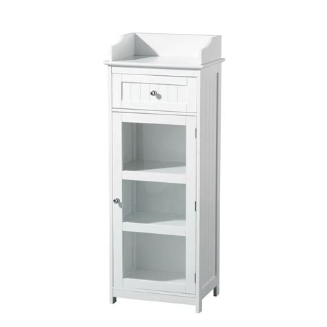 White Bathroom Floor Storage Cabinet White Living Room Storage Cabinets Modern House