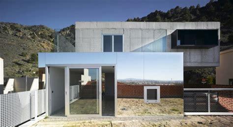 eclectic house design eclectic house design concrete steel mirror 4 news spainhouses net