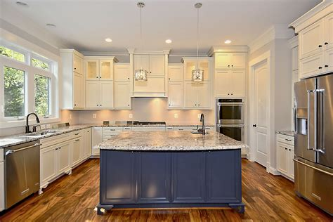 kitchens with different colored islands how to choose a vent for your range or cooktop ndi