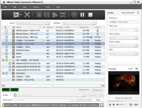 format converter 6 ultimate xilisoft video converter ultimate 6 0 2 0407 tinhte vn