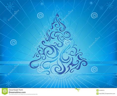 tribal christmas tribal stock vector image of blue pattern 3046910