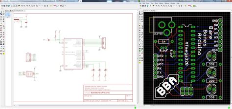 eagle layout exles using eagle schematic learn sparkfun com