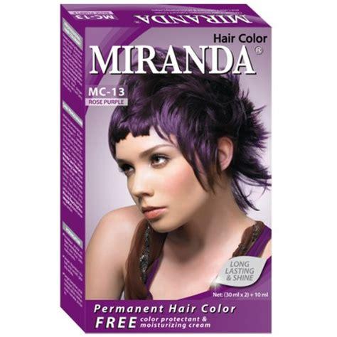 warna rambut miranda jual miranda cat rambut beauty forever shop tokopedia