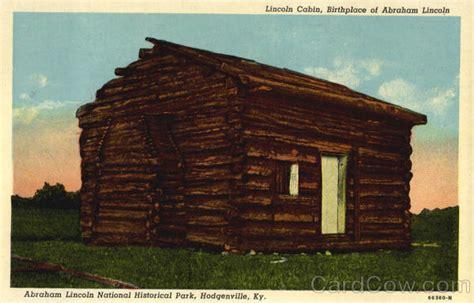 abraham lincoln cabin lincoln cabin abraham lincoln national historical park
