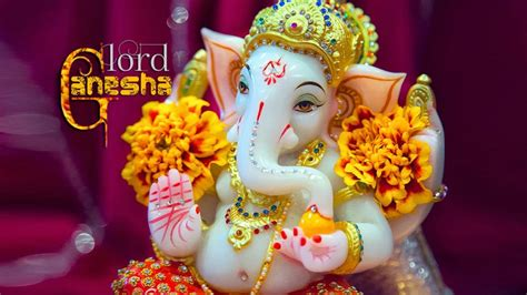 Lord Ganesha Desktop Hd Wallpaper For Mobile Phones And