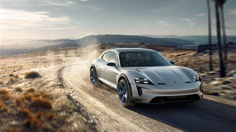 porsche mission e wallpaper 2018 porsche mission e cross turismo 4k 8 wallpaper hd