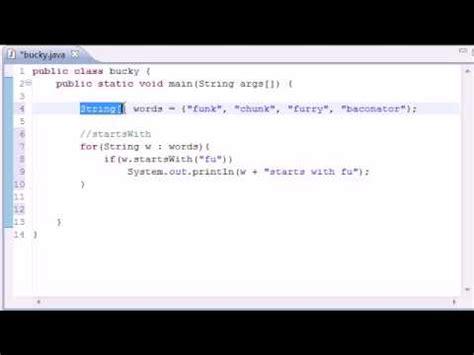 tutorial java usb intermediate java tutorial 1 common string methods