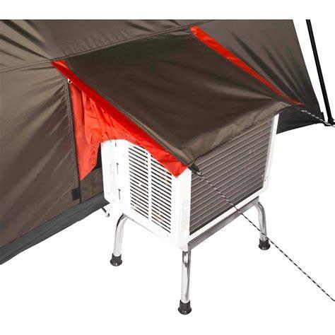 ozark trail 12 person 3 room cabin tent ozark trail 12 person 3 room l shaped instant cabin tent hiking fast set up ebay