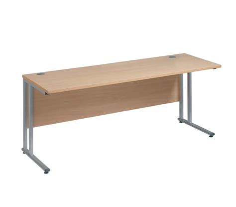 Narrow Office Desks Narrow 600mm Office Desk Choice Of Sizes And Colours
