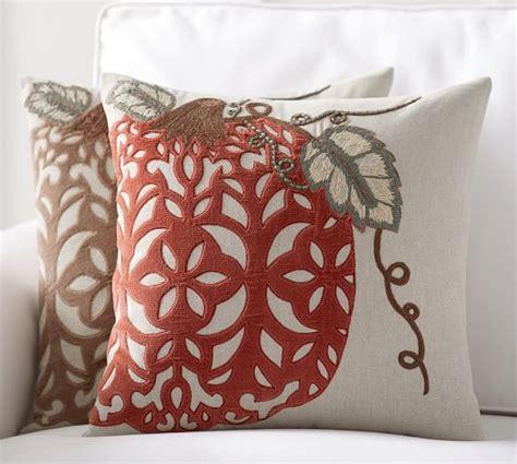 Applique Pillow by Velvet Pumpkin Applique Pillow Cover Pottery Barn