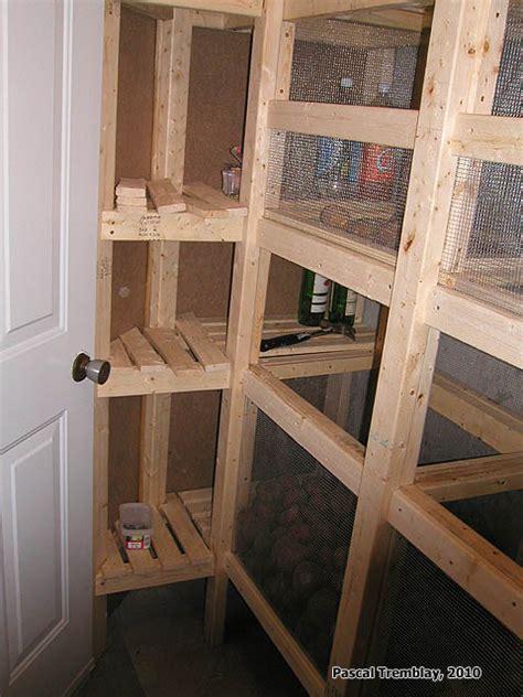 basement cold room design cold storage unit plan food storage shelves and storage bins