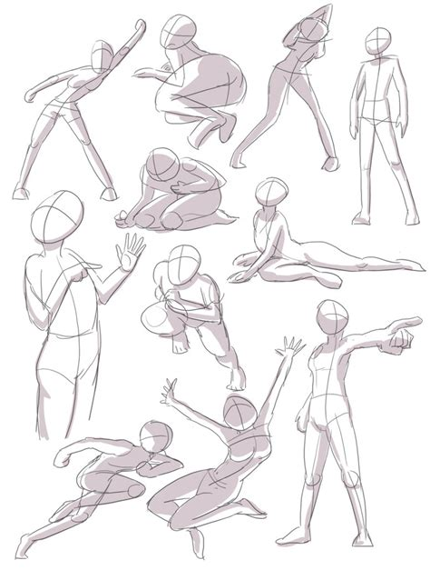 the best 110 poses for practice guide and tips for improving your health books human pose practice 1 by joulester on deviantart