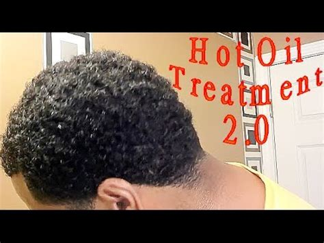 how to make your hair nappy without a sponge curly hair deep waves hot oil treatment youtube