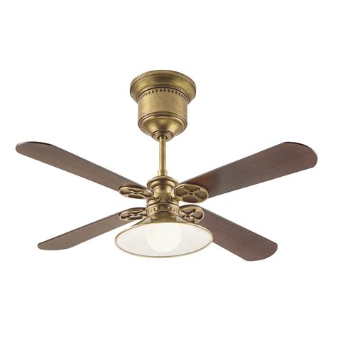 ceiling fans shop kichler 52 in brass downrod mount indoor
