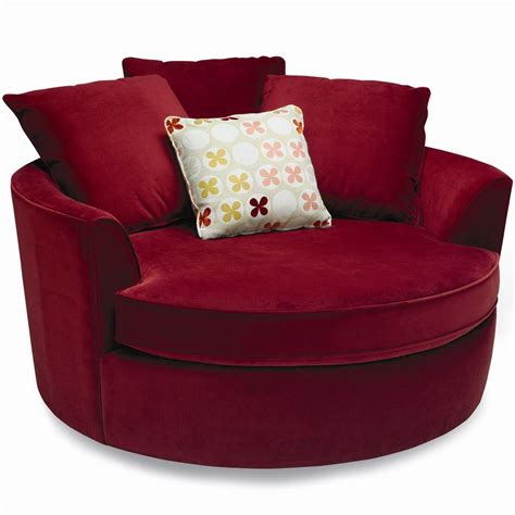 Ashley Furniture Armchair Living Room Oversized Round Chair For Relaxing In Front